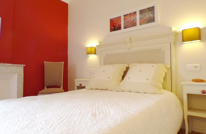 Chambre rouge coquelicot